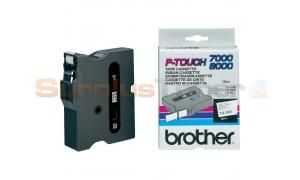 BROTHER TX TAPE BLACK ON WHITE 18 MM X 15 M (TX-241)