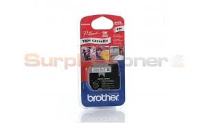 BROTHER M TAPE BLACK ON WHITE 9 MM X 4 M (M-K221SBZ)