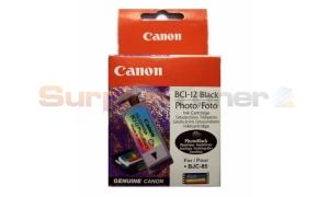 CANON BCI-12 INK TANK PHOTO BLACK (F47-2751-300)