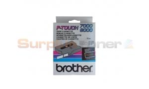 BROTHER TX TAPE GOLD ON BLACK 12 MM X 15 M (TX-334)