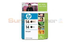 HP NO 14 INKJET CARTRIDGE BLACK (C9330BN)
