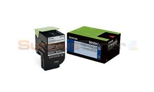 LEXMARK CX510 TONER CARTRIDGE BLACK RP 2.5K (80C1SK0)