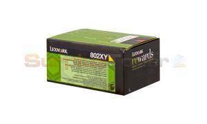 LEXMARK CX510 TONER CARTRIDGE YELLOW RP 4K (80C2XY0)