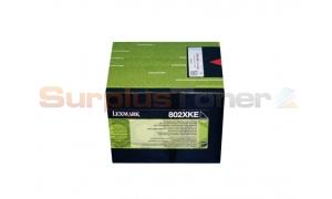 LEXMARK CX510 TONER CARTRIDGE BLACK 8K (80C2XKE)