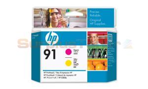HP NO 91 PRINTHEAD MAGENTA AND YELLOW (C9461A)
