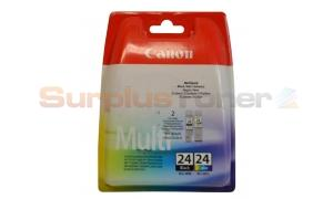 CANON BCI-24 INK TANK BLACK/COLOR MULTIPACK (6881A064)