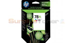 HP NO 78XL INK CART TRICOLOR 970 PAGES (C6654FN)