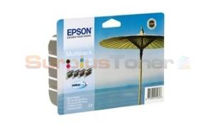 EPSON STYLUS C64 INK CART CMYK MULTIPACK (C13T044140A0)