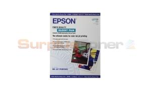 EPSON PHOTO QUALITY GLOSSY FILM 8.5X11 15 SHEETS (S041072)