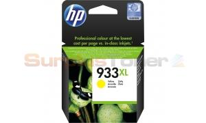 HP NO 933XL INK CARTRIDGE YELLOW (CN056AE#301)