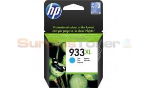 HP NO 933XL INK CARTRIDGE CYAN (CN054AE#301)