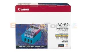 CANON BJC-8500 BC-82 PHOTO BJ INK CTG PBK/PC/PM 900PAGES (0936A002)