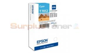 EPSON WP-4015DN INK CARTRIDGE XXL CYAN (C13T70124010)