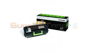LEXMARK NO 624X RP TONER CARTRIDGE 45K (62D4X00)
