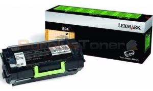 LEXMARK NO 524 RP TONER CARTRIDGE 6K (52D4000)