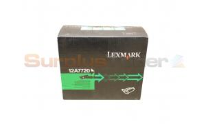 LEXMARK T630 PRINT CARTRIDGE BLACK 21K (12A7720)