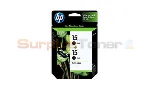 HP 15 INK TWINPACK (C6632DL)