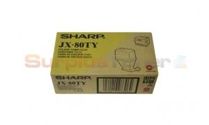 SHARP JX-8200 TONER YELLOW (JX-80TY)