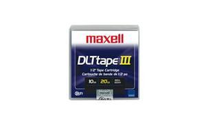 MAXELL DLT III TAPE CARTRIDGE 10-20GB (183670)