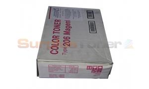 RICOH AP206 TONER CARTRIDGE MAGENTA (400996)