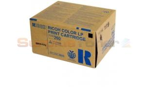 RICOH COLOR LP PRINT CARTRIDGE TYPE 260 CYAN (888449)