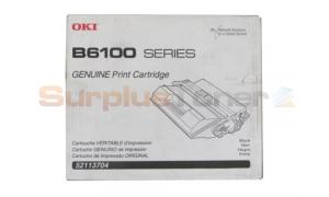 OKIDATA B6100 TONER CARTRIDGE BLACK 6K (52113704)