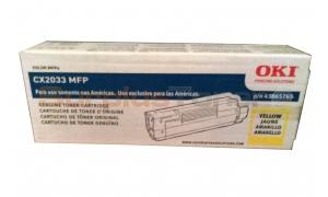 OKIDATA CX2033 MFP TONER CARTRIDGE YELLOW (43865765)