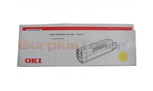 OKIDATA C3100 TYPE C6L TONER YELLOW (42804513)