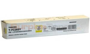 TOSHIBA E-STUDIO 263CS TONER CARTRIDGE YELLOW (T-FC26SY)