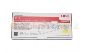 OKI C710 TONER CARTRIDGE YELLOW (43866105)