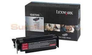 LEXMARK T420 TONER CARTRIDGE BLACK (12A7310)