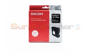 RICOH AFICIO GX-5050N PRINT CARTRIDGE BLACK HY (405544)