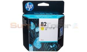 HP NO 82 INK YELLOW 69ML (C4913A)