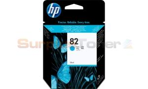 HP NO 82 INK CYAN 28ML (CH566A)