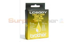 BROTHER MFC-580 590 890 5100J 5200J INK CTG YELLOW (LC600Y)