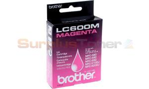 BROTHER MFC-580 590 5100J 5200J INK CTG MAGENTA (LC600M)