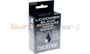 BROTHER MFC-580 590 890 5100J 5200J INK CTG BLACK (LC600BK)