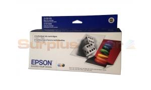 EPSON STYLUS COLOR 740 INK CTG CMYK COMBO PACK (C13T05202F)