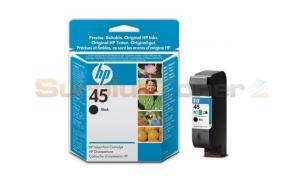 HP NO 45 INKJET PRINT CARTRIDGE BLACK (51645GE)