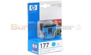 HP NO 177 INK CARTRIDGE CYAN (C8771HE)