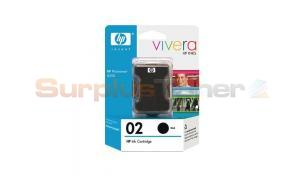 HP NO 02 INK CARTRIDGE BLACK (C8721WC)