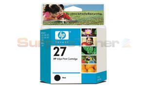 HP NO 27 INKJET PRINT CARTRIDGE BLACK (C8727AC)