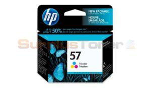 HP NO 57 INKJET CART TRI COLOR 391 PAGES (C6657AC)