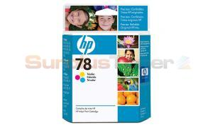 HP 78 DESKJET 970CSE INKJET CARTRIDGE TRI-COLOR (C6578DL)