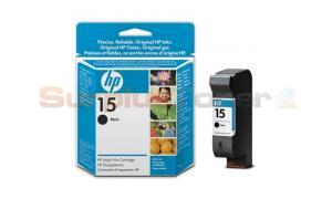 HP 15 DESKJET 310 INKJET CARTRIDGE BLACK (C6615NE)