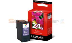 LEXMARK NO 24A PRINT CARTRIDGE TRI-COLOR (18C1624)