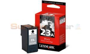 LEXMARK NO 23A PRINT CARTRIDGE BLACK (18C1623)