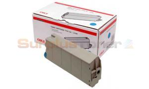 OKIDATA C7100/C7500 TYPE C4 TONER CARTRIDGE CYAN (41963007)