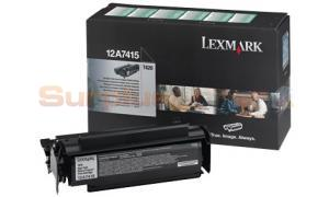 LEXMARK T420 TONER CARTRIDGE BLACK RP 10K (12A7415)