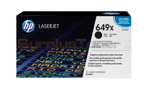 HP CLJ CP4525 PRINT CARTRIDGE BLACK HY (CE260X)